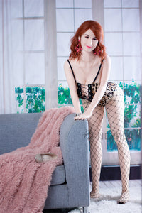 Sexy Black Lace Real Doll 165cm/ 5.4ft
