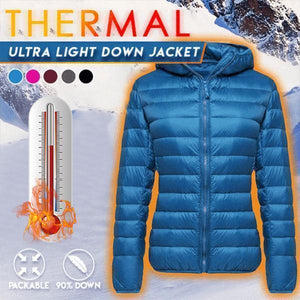 【Black Friday Spree】Unisex Thermal Ultra-light Down Jacket