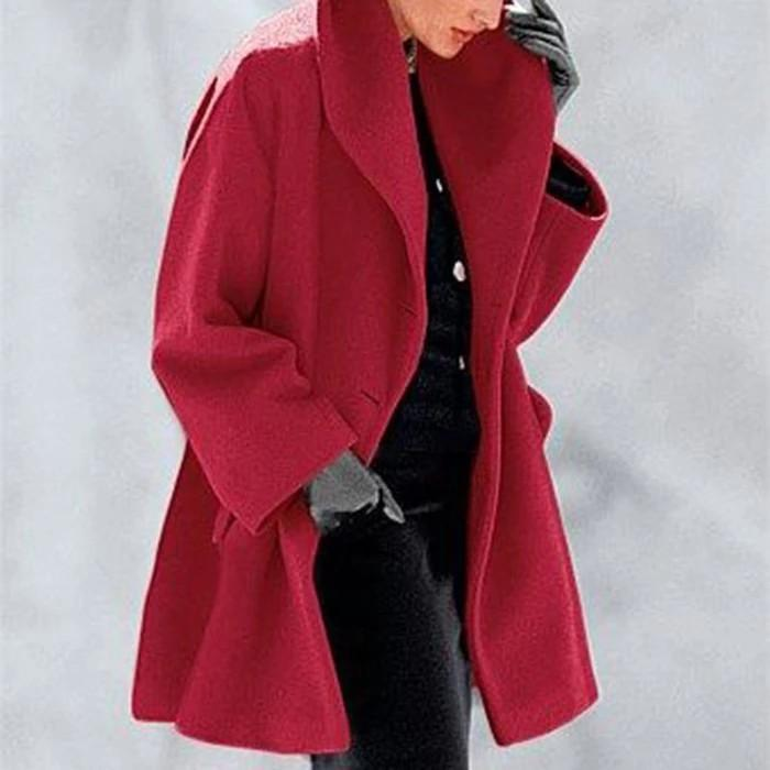 【Black Friday Spree】New warm fashion multicolor shawl collar coat