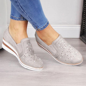 Shining Casual Slip-on Sneaker Shoes
