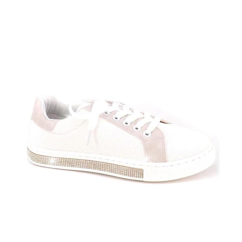Glitter and Crystal Trim Sneakers Limited Edition