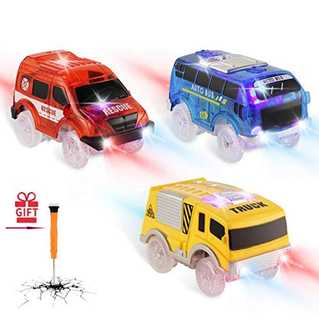 【Black Friday Spree】Track Cars Replacement for Magic Tracks (3 Pack)