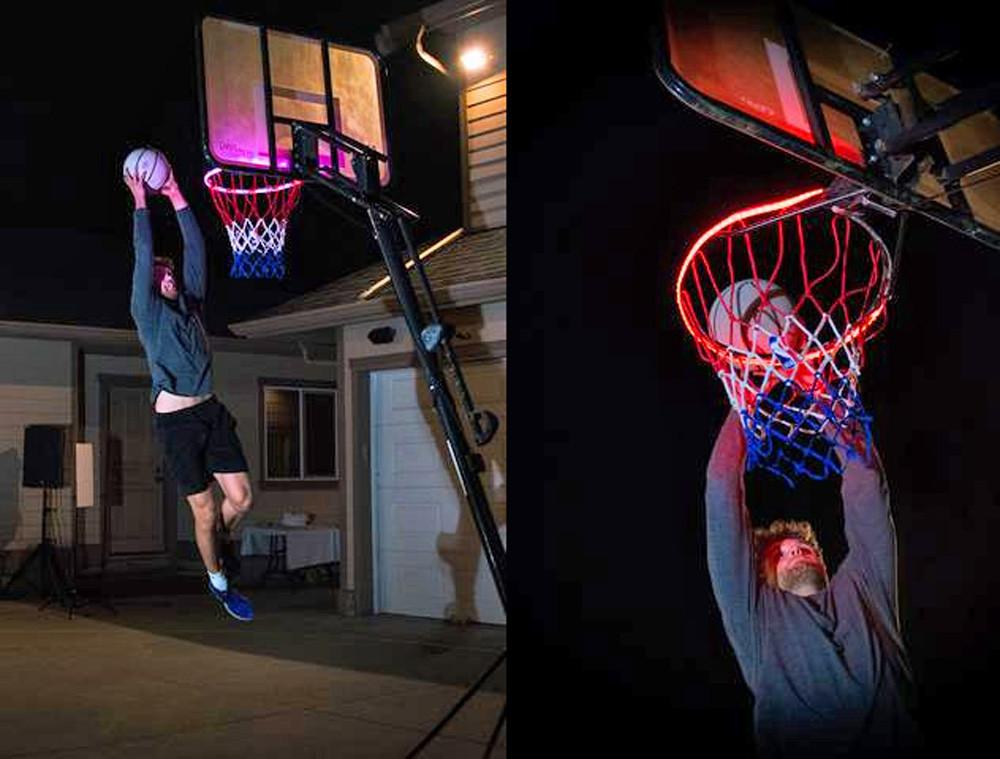 Hoop Brightz - Light Up Your Hoop With a Swish