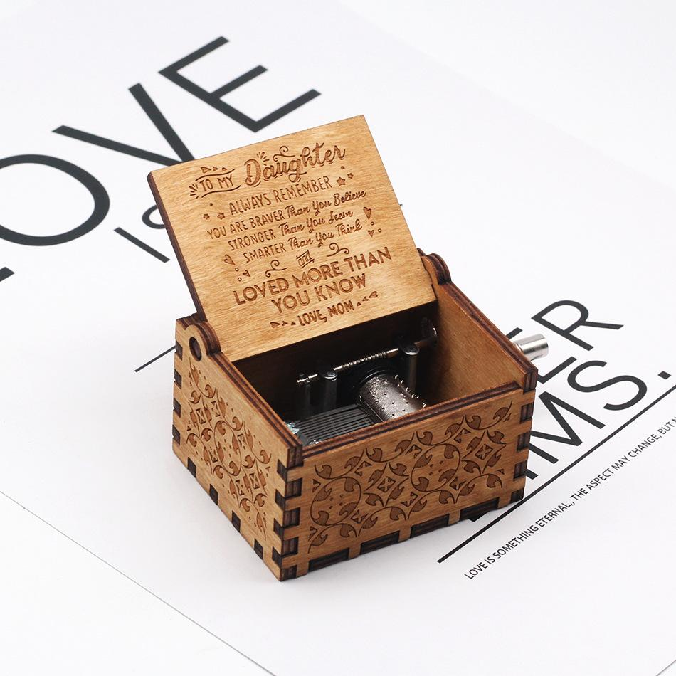 Christmas Gift!【Limited Edition】Engraved Music Box
