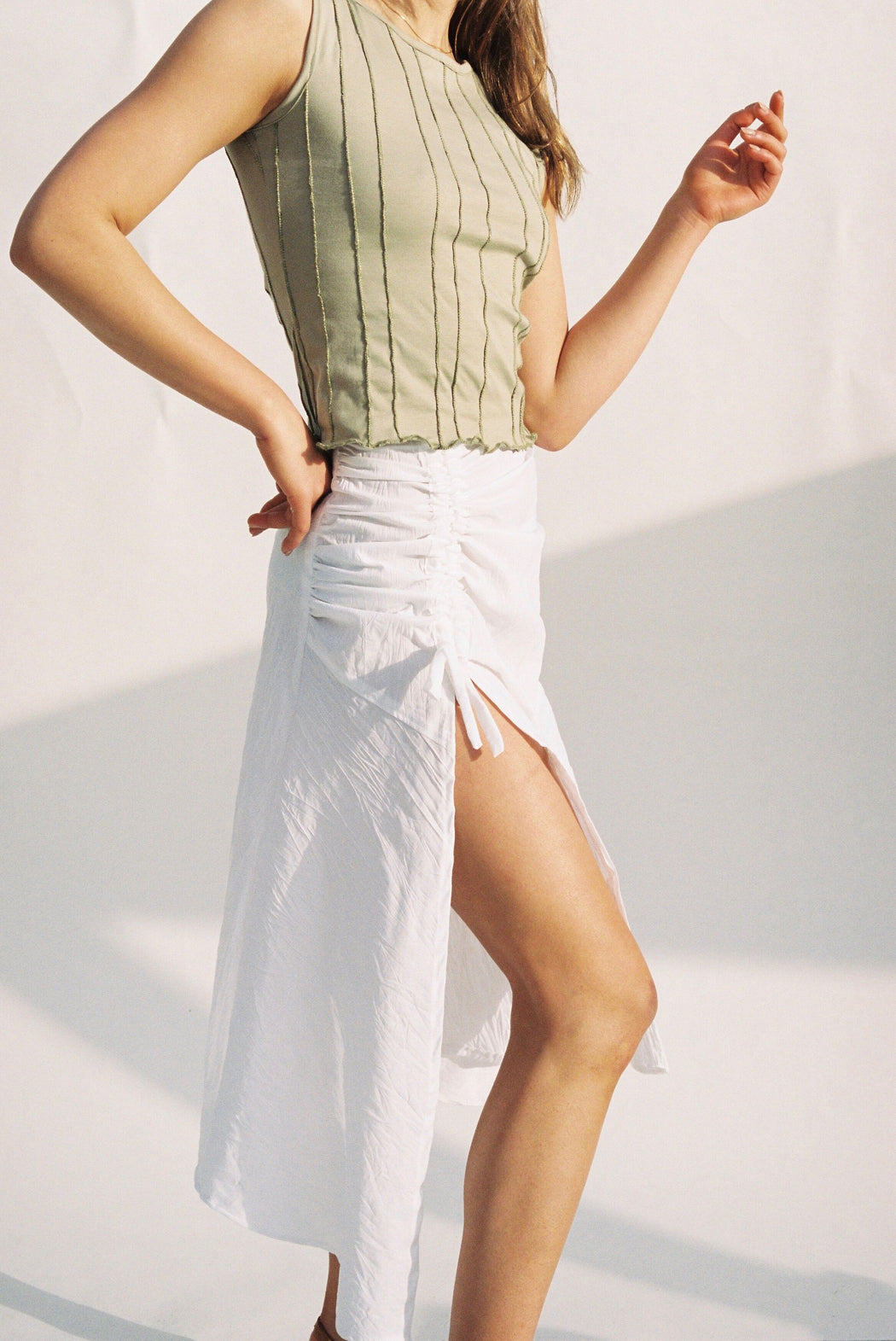 SUMMER SKIRT WHITE
