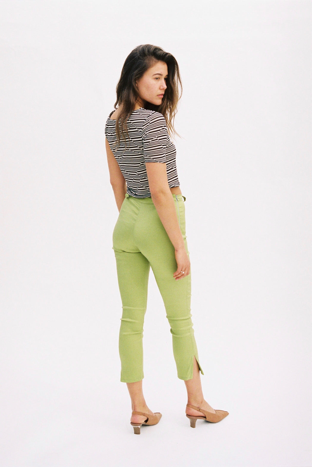 LONG CAPRI GREEN