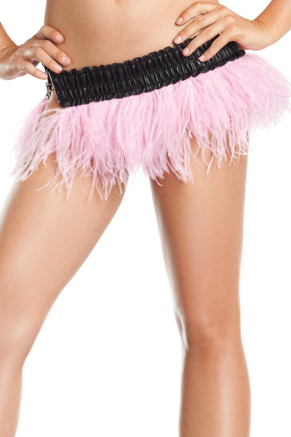 BW1500PR Ostrich Feather Skirt