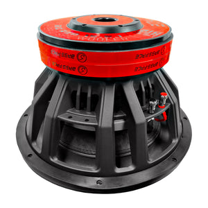 Bass Face BIGRED15.5.1 – Subwoofer 38 cm 1+1 ohm 3500W rms – COMPETITION