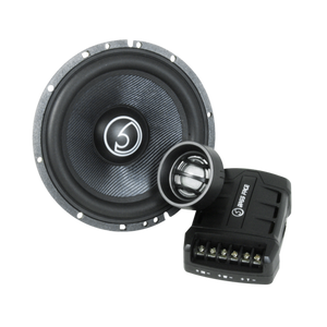 Blackspl6c.1 – Kit 2 vie Hi End da 16 cm – Components Speakers – Woofer crossover tweeter (x2)