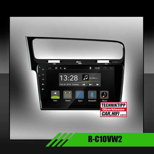 VW Golf VII Autoradio Spcifica Android 10,1""