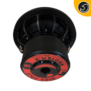 Bass Face RED12.4.2 – Subwoofer 30 cm 2 + 2 ohm 2500W rms RED SERIES