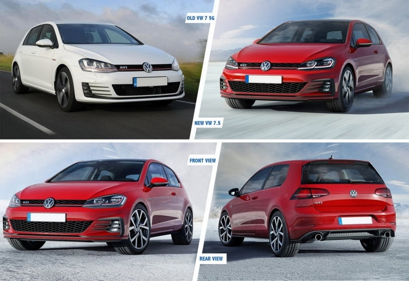Kit estetico per VW Golf 7.5 VII Facelift (2017-up) GTI Design
