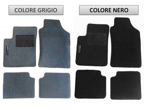 Set Tappeti specifici per Fiat 500