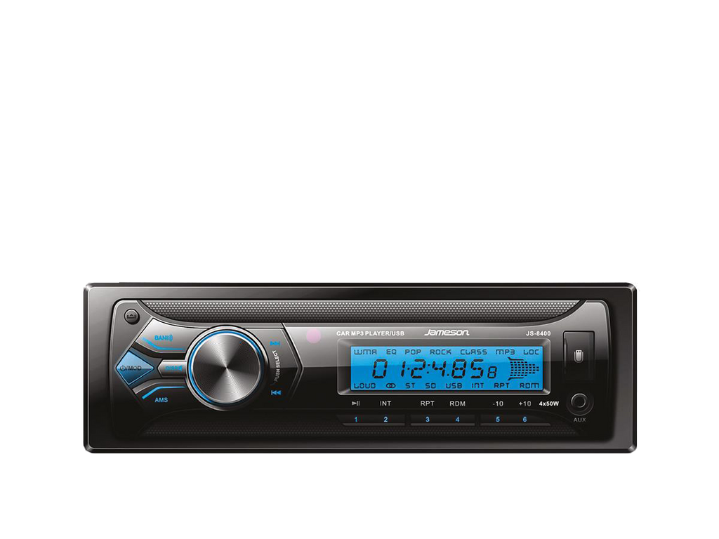 jameson JS-8400 autoradio 1 din Magic Box USB / MMC / RDS / AUX