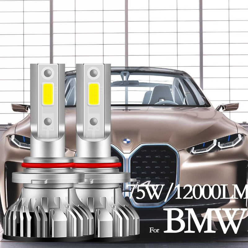 Kit LED BMW E87 E46 E39 E38 Z3 Z8 E65 E85 E60 E63 E90 E82 F10 F12  High Beam Low Beam Headlight Bulbs Led Fog Light H1 H7 H11