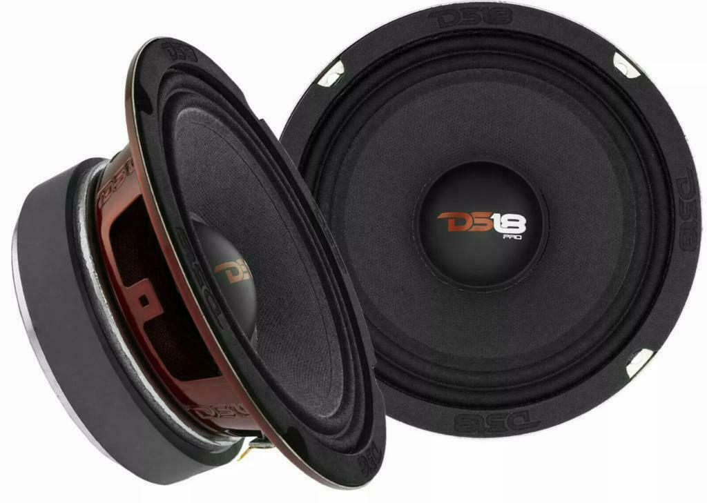 DS18 Coppia Altoparlanti alta efficienza da 16,5 cm 250W RMS l'uno