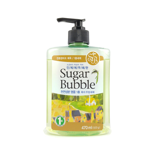 Sugar Bubble Black Rice Dish Detergent 470ml