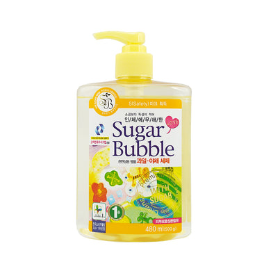 Sugar Bubble Fruit and Vegetable Detergent 480ml