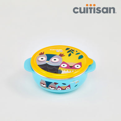 Baby Feeding Bowl - 400ml BLUE