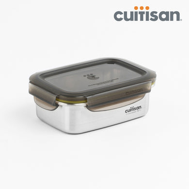 Signature Stainless Microwave-safe Lunch Box - Rectangle 350ml
