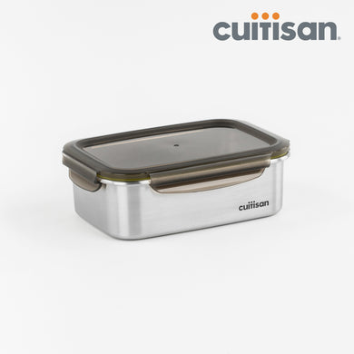 Signature Stainless Microwave-safe Lunch Box - Rectangle 1400ml