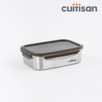 Signature Stainless Microwave-safe Lunch Box - Rectangle 2300ml