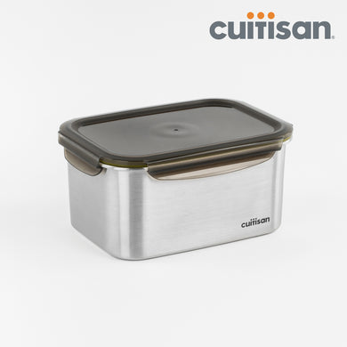 Signature Stainless Microwave-safe Lunch Box - Rectangle 4000ml
