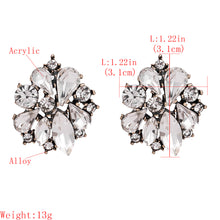 Load image into Gallery viewer, NZ - Studded Party Alloy Stud Earrings