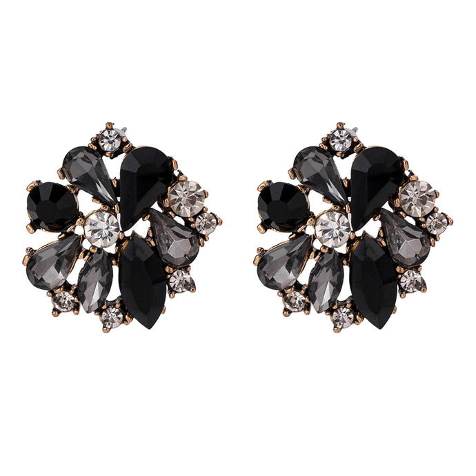 NZ - Studded Party Alloy Stud Earrings