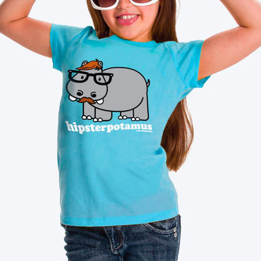 Hipsterpotamus Youth Tee