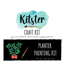 Load image into Gallery viewer, Planter Painting Craft Kit