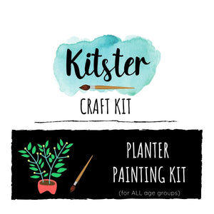 Planter Painting Craft Kit