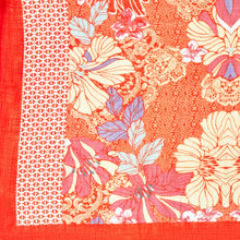 Load image into Gallery viewer, Coral Floral Kimono Wrap