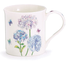 Load image into Gallery viewer, Hydrangea Mug with Paper Gift Caddy