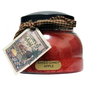 "Keeper of the Light ""Baked Candy Apple"" Candle by a Cheerful Giver"