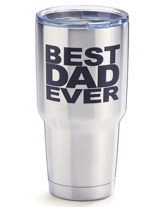 Best Dad Ever Travel Tumbler