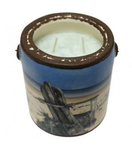 "Farm Fresh ""Just Relax"" Candle by A Cheerful Giver"