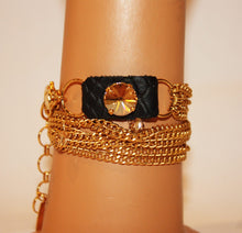 Load image into Gallery viewer, B-JWLD Gold Wrap Bracelet