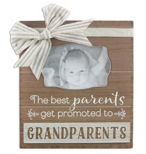 Best Grandparents Wooden Photo Frame