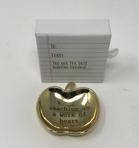 Mini Teacher Trinket Dish in Gift Box
