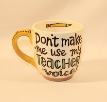 Load image into Gallery viewer, Ceramic Teacher Gift Mug