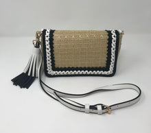Load image into Gallery viewer, Sondra Roberts Raffia Crossbody