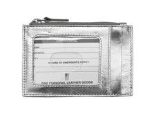 Load image into Gallery viewer, ILI RFID Blocking Leather Credit Card Holder