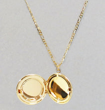 Load image into Gallery viewer, Round Locket - Gold Finish