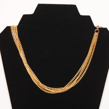Load image into Gallery viewer, B-JWLD Long Gold Intertwined Necklace