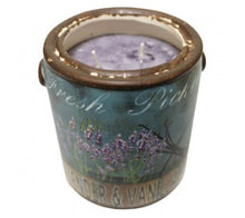"Load image into Gallery viewer, Farm Fresh ""Lavender & Vanilla"" Candle by A Cheerful Giver"