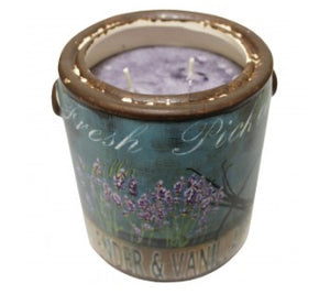 "Farm Fresh ""Lavender & Vanilla"" Candle by A Cheerful Giver"