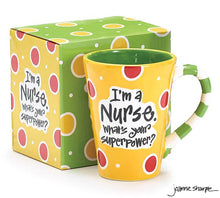 Load image into Gallery viewer, Nurse Superpower Ceramic Mug