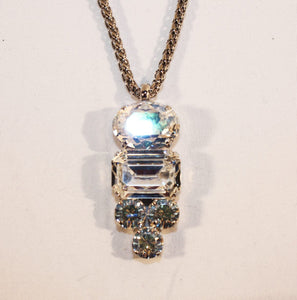 B-JWLD Silver Assorted Pendant Necklace