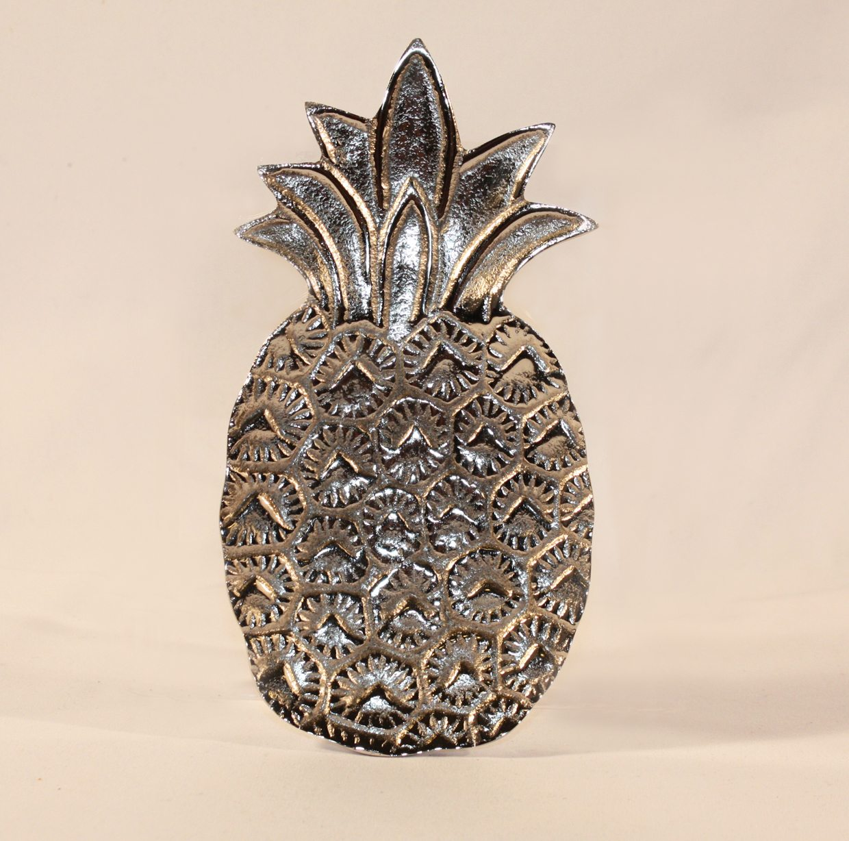 Silver Pineapple Trinket Tray